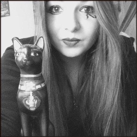 Ma passion. ❤️ Bastet Egyptian Goddess Frenchgirl