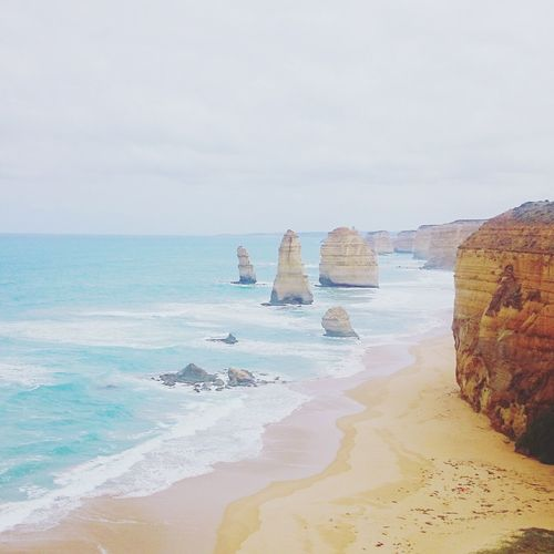 My last visit to 12 apostles, the last time i checked theyre 9. I wonder how many stood strong till now. Check This Out Hello World Australian Landscape Relaxing Melbourne Rocks Photography