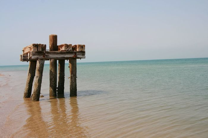 Seaside EyeEm Selects Water Sea Beach Sand Clear Sky Relaxation Horizon Sky Horizon Over Water Landscape