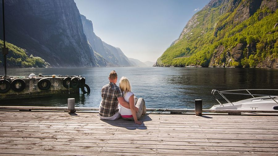 - GIRLS LOVE ROMANCE - Norway Lysefjord Outdoor Photography Nature Nature_collection Nature Photography Outside Protecting Where We Play Fjord Check This Out Photography EyeEm Nature Lover EyeEm N \ VEA ★ CREME Things I Like The Essence Of Summer People Together People And Places Long Goodbye Breathing Space