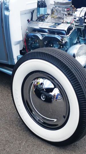 RatRod HotRods Kustom Kustomkulture Coolcars Streetrod CarShow Ratrods Americanmade HotRod Reflection Reflections Mirror