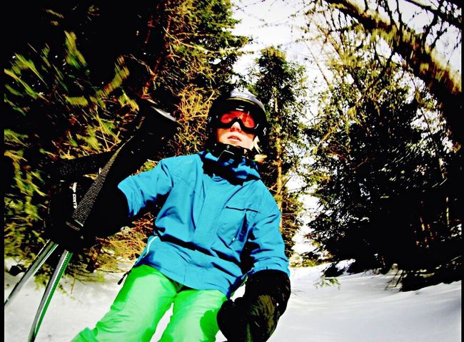 Austria Austria Skiing Skiing Skis Forest Snow Nature Good Idea GoPro Hero 4 New GoPro Hero 4 Fun Showcase: February Beutiful Day Skiing In Terrain Trees Hinterstoder No School Holidays ☀