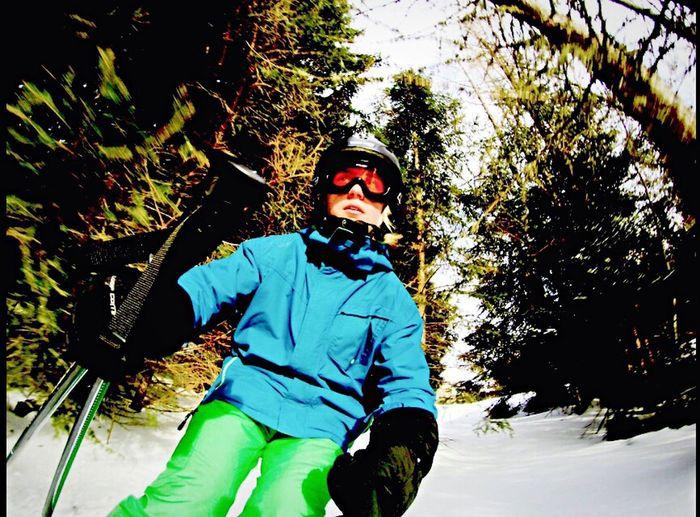 Austria Austria Skiing Skiing Skis Forest Snow Nature Good Idea GoPro Hero 4 New GoPro Hero 4 Fun Showcase: February Beutiful Day Skiing In Terrain Trees Hinterstoder No School Holidays ☀
