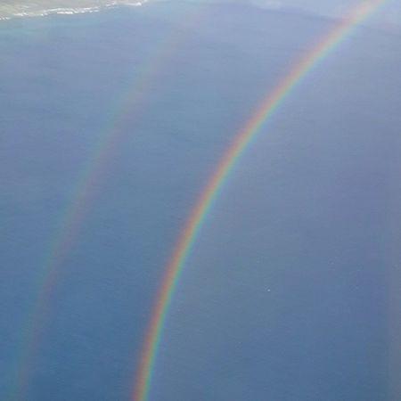 Flying Through Doublerainbows Rainbows Gan Adducity Maldives GoodTimes