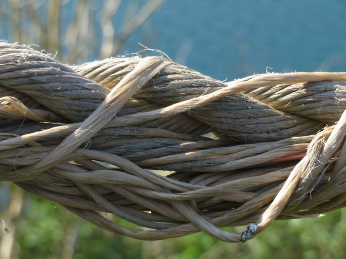 Strength Rope Tied Up Complexity Braided Twisted Intertwined