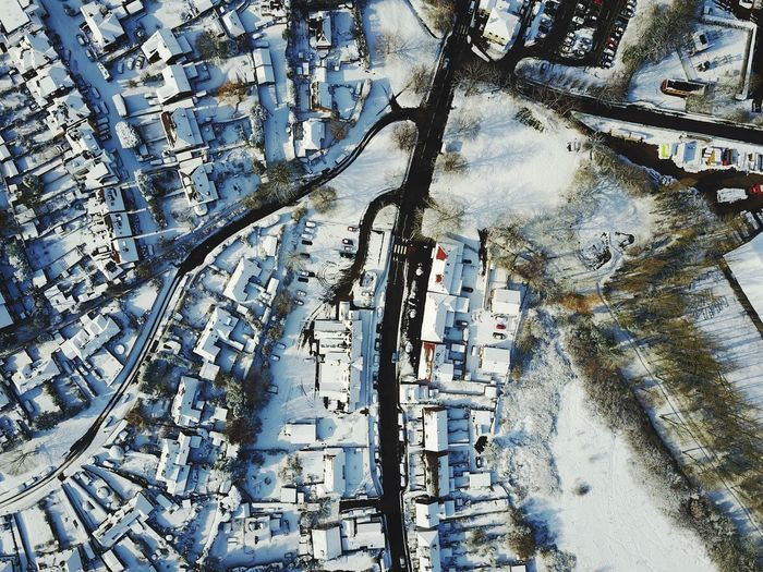 Snow England Sussex Uk United Kingdom Aerial Photograph Aerial Photography Drone  Full Frame Tree No People Pattern Plant Nature Winter Outdoors Cold Temperature Snow