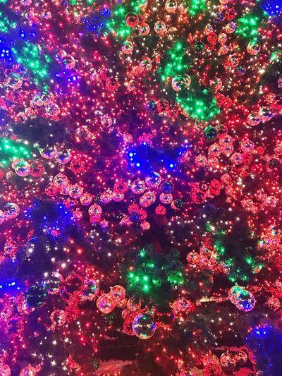 Multi Colored Illuminated Celebration Decoration Night No People Full Frame Lighting Equipment Backgrounds Christmas