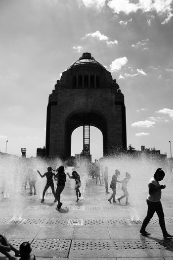 Colected Comunity Streetphotography_bw Streetphoto_bw Streetphotography Mexico City Monumento A La Revolucion Streetphotography In Mexico StreetphotographyinMexico Blackandwhite