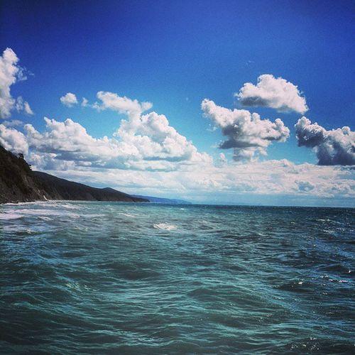 То самое море, ради которого стоит немного потерпеть =) Море краснодар Dubrawcamp DubRaw sea seaside coast drunk