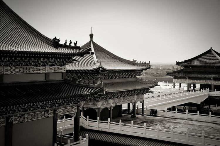 廟宇 古蹟 媽祖 廟宇 Architecture History Travel Destinations Built Structure Outdoors Sky Day The Graphic City