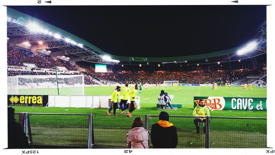 Stadium Beaujoire Nantes Football Match