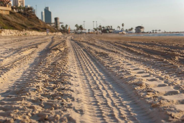 Sand The Way