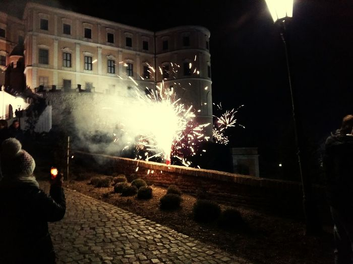 Happynewyear Celebration Happiness Mikulov Czech Republic Citycenter