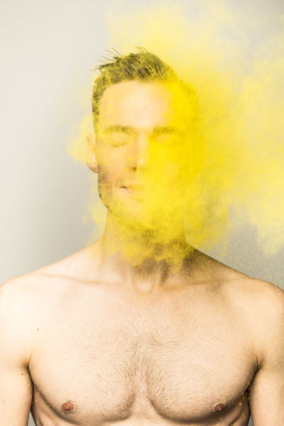 Color Powder Close Up Color Colors Creative Creativity Holi Holi Powder Paint People Photography Powder Shirtless Studio Shot The Portraitist - 2017 EyeEm Awards