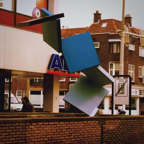 Sculpture Urban Art Symmetry And Chaos Squares The Hague Rijswijk