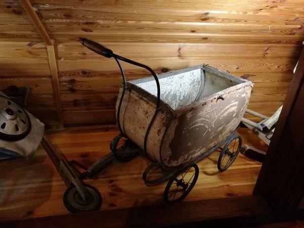 Skansen Stopka, Stroller Old Stroller Old Items