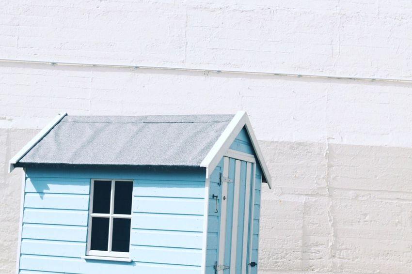 Sun shed | Sun Shed Blue White Window Sunshine Summer Bright Light Taking Photos Relaxing Enjoying Life Eye4photography  EyeEm Gallery Shootermag Beach Street Photography Streetphotography Walking Around Urban Wall