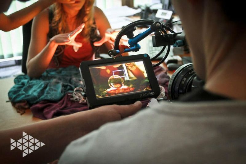 Life on set filmset behind the scenes knitterfisch Knitterfisch