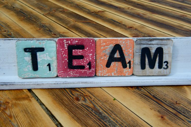 Typography Letters Outdoors Multi Colored Text Team Communication Text Wood - Material Western Script Sign No People Capital Letter Close-up Information Day Pattern Information Sign Full Frame Wood Single Word