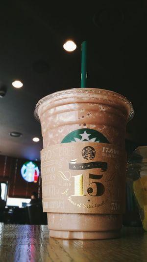 Starbucks chocolate banana frappuccino