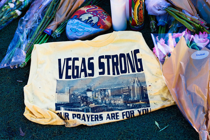 LAS VEGAS - OCT 07 ,2017 : Memorial Message of the Las Vegas Shooting victims on the Las Vegas Boulevard Near the Mandalay Bay. 43 Golden Moments EyeEm Best Shots EyeEm Selects Getty Getty Images Las Vegas Las Vegas NV Mandalay Bay Hotel Mandalay Bay Resort & Casino Vegas Strong America Communication Gun Control Problems Shooting Stockphoto Stockphotography Strong Text
