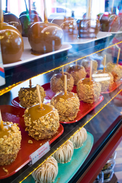 Halloween Sugar Candy Candy Town Caramel Apples Close-up Colorful Day Dessert Food Food And Drink Freshness Indoors  Indulgence Junk Food No People Plate Ready-to-eat Retail  Sweet Food Sweets Table Temptation Unhealthy Eating