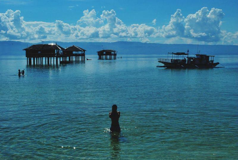 Blue Sky Beautiful Clear Sea Enjoying Life Cobalt Blue By Motorola Philippines Paradise NOstress JustMe