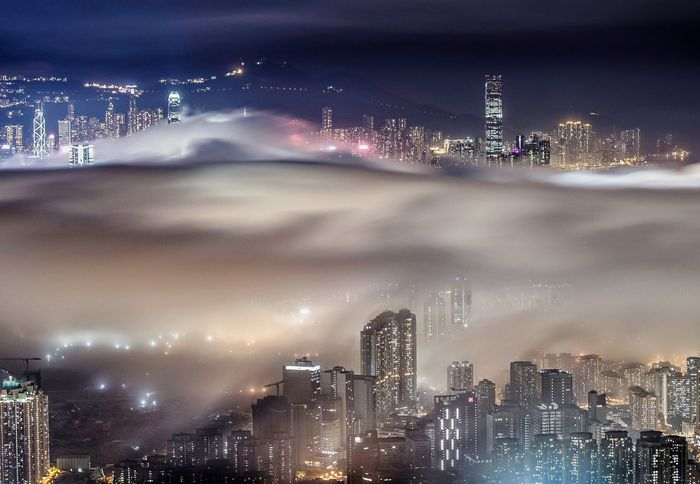 Night First Eyeem Photo Cityscapes Phoyography Clouds And Sky HongKong Market Bestsellers November 2016