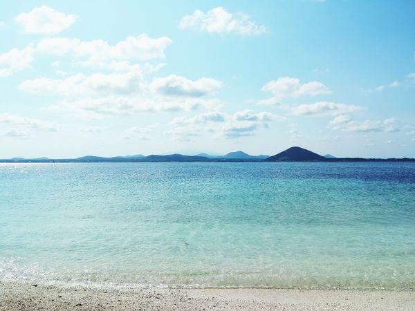 JEJU ISLAND  Udo Korea Sea Sky Cloud Ocean