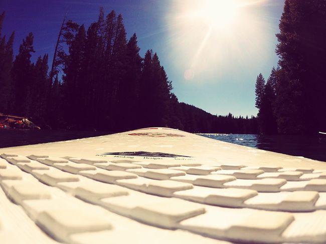 Paddleboarding Sun Lake
