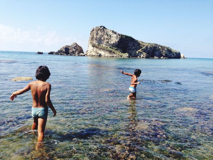 Sea, island, Children, sicily, Live For The Story EyeEmNewHere 100 Days Of Summer