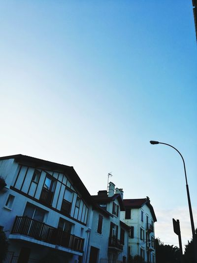 Streetphotography Architecture Sky Building Exterior Built Structure Outdoors City Day Morning Sky November 2017 Biarritz, France,