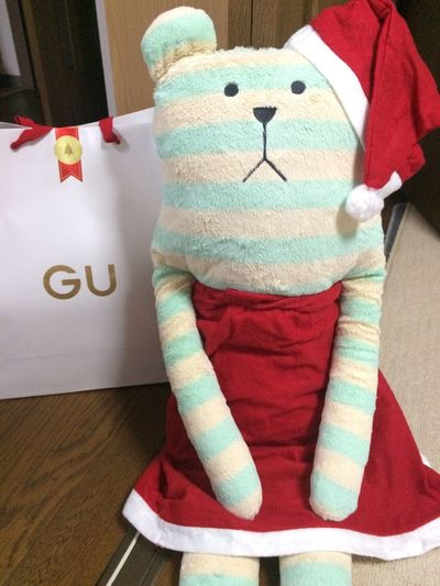 Indoors  Plush Doll Cute Cristmas