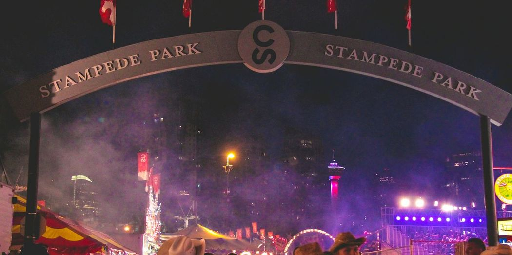 Calgary Stampede Greatest Outdoor Show Calgary Tower Cowboys City Living