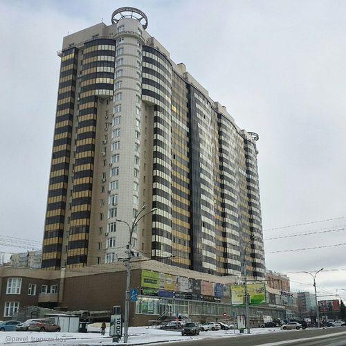 "20141109 , Россия , Новосибирск , улицаКирова . ЖилойКомплекс ""Корона"" / Russia, Novosibirsk. ResidentialComplex ""Corona""."