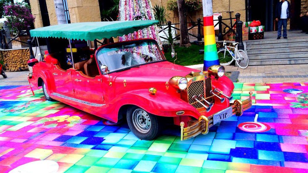 Merry Christmas! Christmas Car Today's Photos Everyday Lives Island Haynan Car