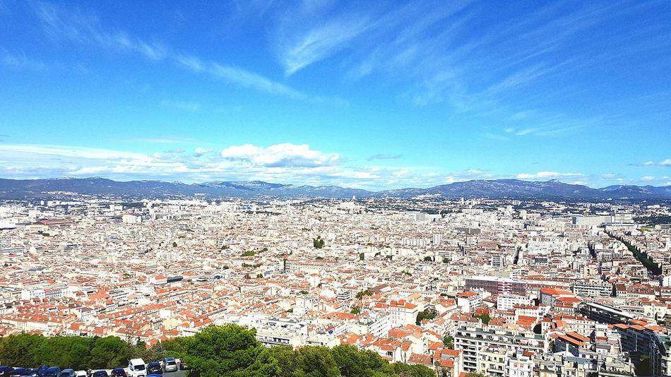 Sky Outdoors Cityscape Architecture City Blue Provence Marseille, France Marseillecartepostale📮