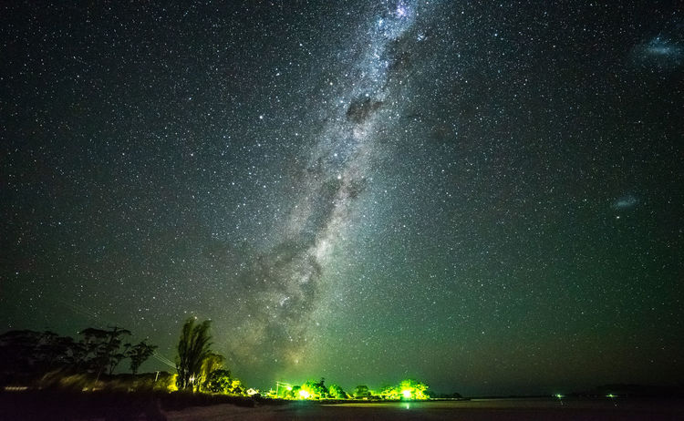Milky Way rises over Cremorne beach Constellation Galactic Core Astronomy Astrophotography Beauty In Nature Galactic Center Galaxy Idyllic Illuminated Infinity Milky Way Nature Night No People Outdoors Scenics - Nature Sky Space Star Star - Space Star Field Tasmania Tranquil Scene Tranquility Water
