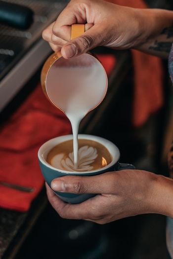 latte art Food