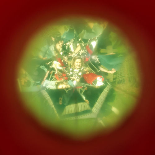 Happy Person Kaleidoscope Multiple Images