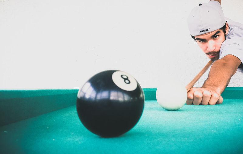 Headshot Indoors  Sport People Adult Pool Ball Pool Pooltable Photography Portrait Photographer The Week On EyeEm