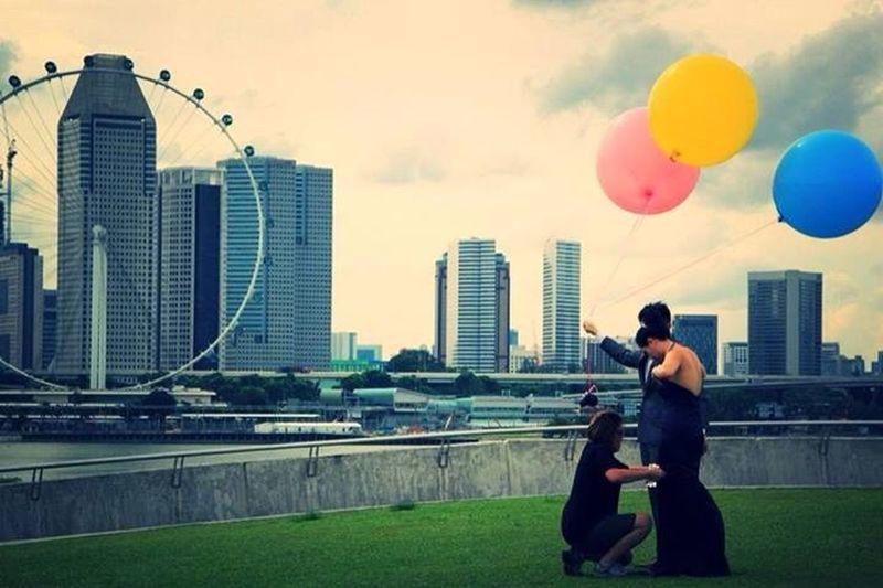 Travel Singapore Enjoying Life Wedding
