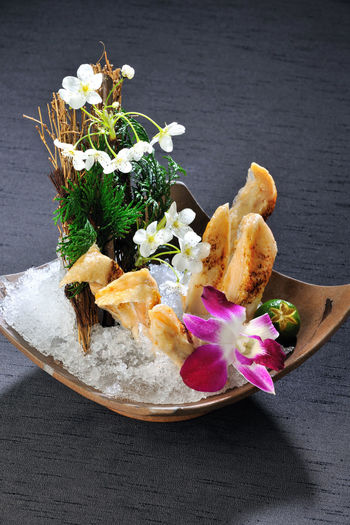 Cuisine Dairy Product Flower Fresh Freshness Italian Food Japanese-style No People Pine Nut Ready-to-eat Salmon - Seafood Studio Shot Taiwan Vegetable