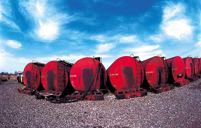 Street Art Oiltruck Oil Train