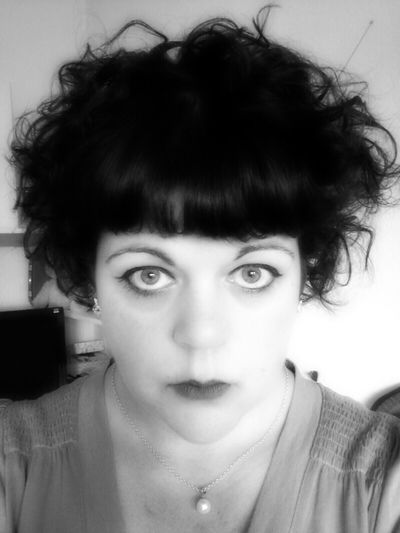 The Clara Bow look. ;) Bw_collection Eye4photography  Selfportrait Retro