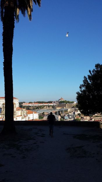 Long time ago... Porto Pontedluis Sillouette Cityscape