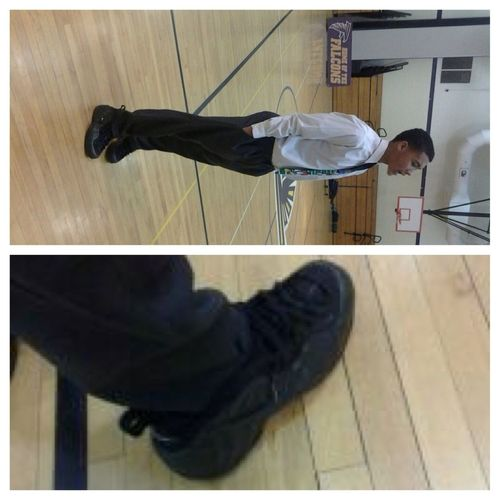 Dress Clothes & Foams #GameDay