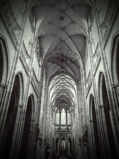 Religion Place Of Worship Church Spirituality Low Angle View Indoors  Cathedral Gothic Style Interior Arch Majestic Full Frame Duomo Di Milano Gothic History Surface Level