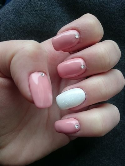 Beauty Nails Done Nail Art Manicure Nails Nailsoftheday Nailstagram Naildesigns Nail Color  Pinknails Pastel Colours Instanails