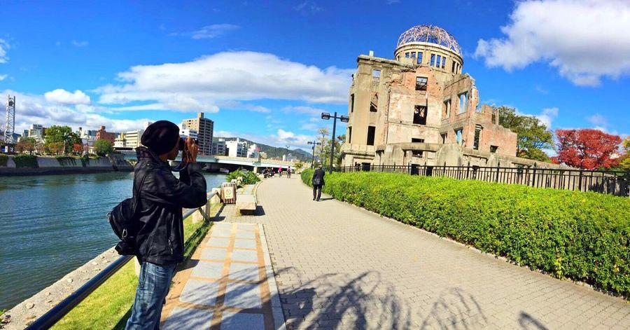 Travel Traveling World Hiroshima Japan Bomb Bomb Sight Atomic Bomb Atomic Bomb Dome Hiroshima Peace Memorial Park Beautiful Historic Must Must See Respect Ultimate Japan